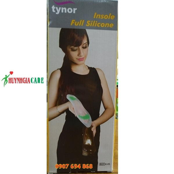 De lot giay silicone Tynor